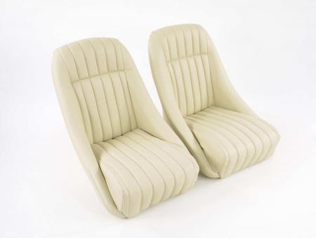 sedile sportivo sedile secchio pieno coppia destra + sinistra beige