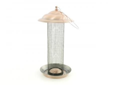 tuning shop futterstelle vogelhaus f r v gel mit kupferdach online kaufen. Black Bedroom Furniture Sets. Home Design Ideas