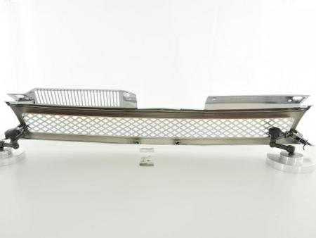 Sportgrill Frontgrill Grill VW Golf 6 Typ 1K Bj. 08- chrom