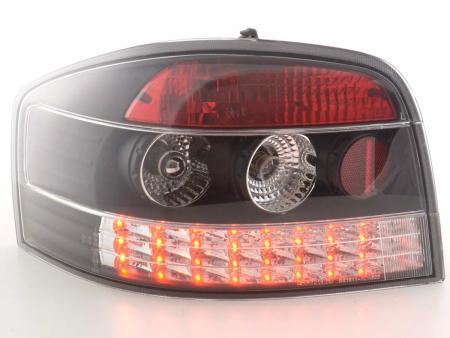 LED Rückleuchten Heckleuchten Set Audi A3 Typ 8P  03-05 schwarz/klar