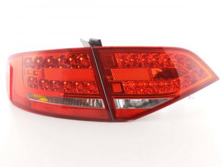 Led Rückleuchten Heckleuchten Set Audi A4 B8 8K Limousine 07- rot/klar