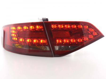 Led Rückleuchten Heckleuchten Audi A4 Typ 8K Limo 07-11 rot/schwarz