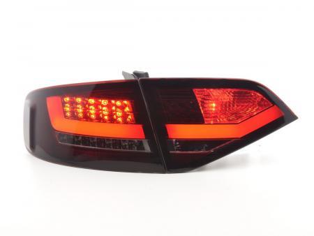 LED Rückleuchten Heckleuchten Set Audi A4 B8 8K Limo 07-11 rot/schwarz