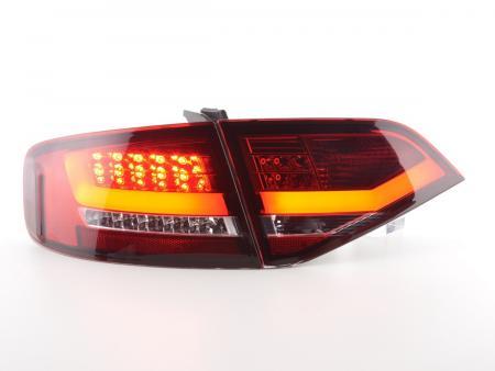 LED Rückleuchten Heckleuchten Set Audi A4 B8 8K Limo 07-11 rot/klar