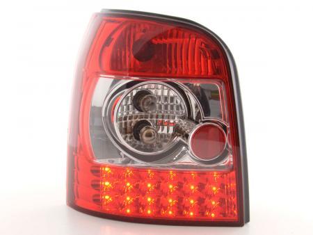 LED Rückleuchten Heckleuchten Set Audi A4 Avant Typ B5  95-00 klar/rot