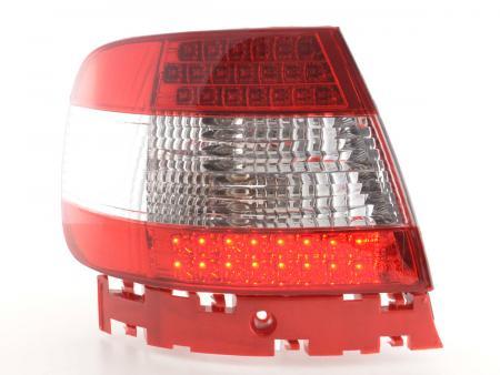 Led Rückleuchten Heckleuchten Set Audi A4 Limousine Typ B5 95-00 klar/rot