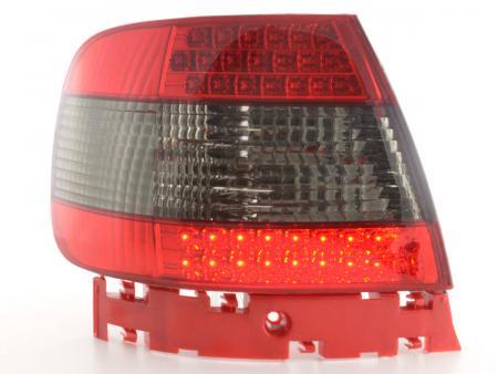 Led Rückleuchten Heckleuchten Set Audi A4 Limousine Typ B5 95-00 schwarz/rot