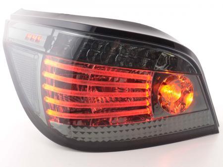 LED Lightbar Rückleuchten Set BMW 5er Limousine Typ E60 Bj. 03- schwarz