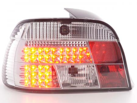 LED Rückleuchten Set BMW 5er E39 Limousine Bj. 95-00 chrom