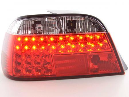 LED Rückleuchten Heckleuchten Set BMW 7er Typ E38 Bj. 95- rot/klar