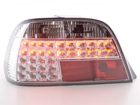 LED Rückleuchten Heckleuchten Set BMW 7er E38 Bj. 95-02 chrom