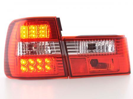 LED Rückleuchten Set BMW 5er Typ E34 Bj. 88-94 klar/rot