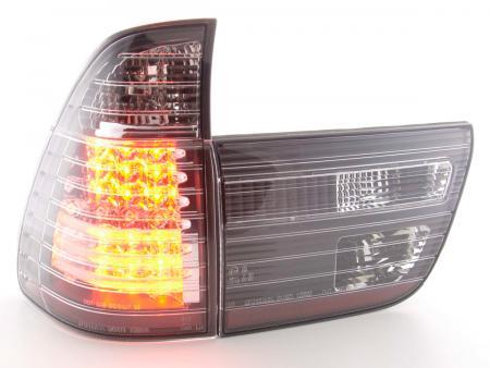 LED Rückleuchten Heckleuchten Set BMW X5 Typ E53 98-02 schwarz