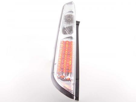 LED Rückleuchten Heckleuchten Set Ford Focus 2 5-türig  08-10 chrom