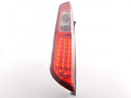 LED Rückleuchten Heckleuchten Set Ford Focus 2 5-türig  04-07 klar/rot
