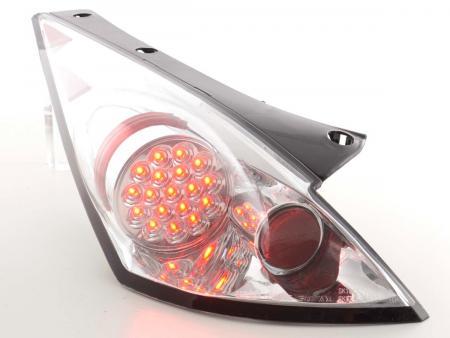 LED Rückleuchten Set Nissan 350Z Typ Z33 Bj. 03-09 chrom
