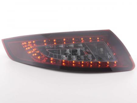 LED Rückleuchten Heckleuchten Set Porsche 911 Typ 997  04-09 rot/smoke