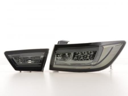 LED Lightbar Rückleuchten Set Renault Clio 4 (X98) Bj. ab 2012 schwarz