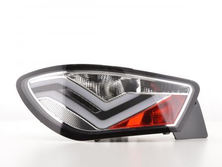 LED Lightbar Rückleuchten Set Seat Ibiza 6J 3-Türer Bj. 08-12 chrom