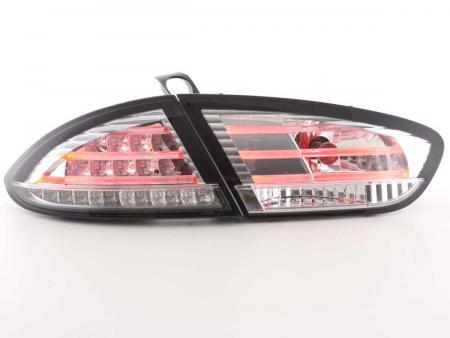 LED Rückleuchten Set Seat Leon Typ 1P Bj. 09-12 chrom