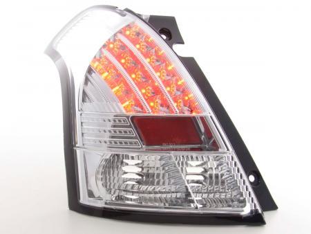 LED Rückleuchten Set Suzuki Swift Bj. 04-10 chrom
