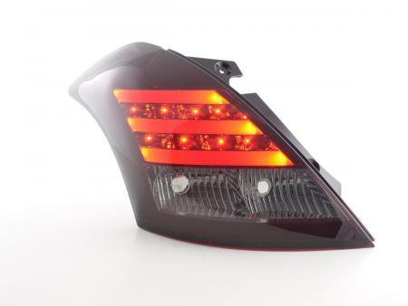 LED Lightbar Rückleuchten Set Suzuki Swift Sport Bj. 2011-2013 rot/schwarz