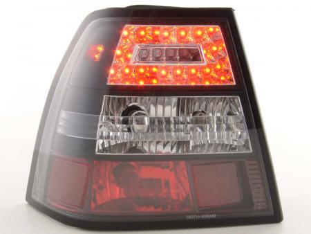 LED Rückleuchten Heckleuchten Set VW Bora 1J Limo 1998 - 2003 klar/schwarz
