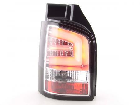 LED Lightbar Rückleuchten Set VW T5 Bj. 03-09 chrom