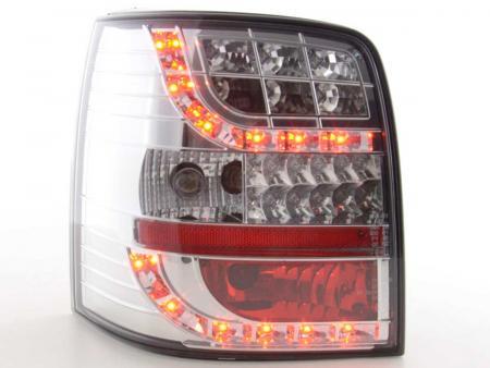 LED Rückleuchten Set VW Passat 3B Variant  97-00 chrom mit LED Blinker
