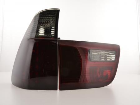 LED Rückleuchten Heckleuchten Set BMW X5 E53 Bj. 04-05 rot/schwarz