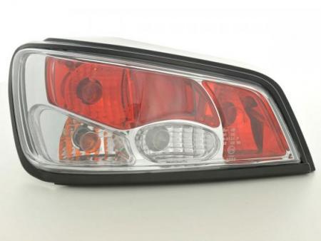 Rückleuchten Heckleuchten Set Peugeot 306 2-trg. Typ 7*** Bj. 97-01 chrom