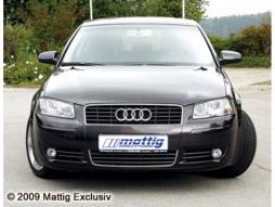 MATTIG Scheinwerferblenden für Audi A3, Bj. 2003-2005