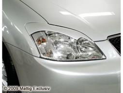 MATTIG Scheinwerferblenden für Toyota Corolla E12, Bj. 2001-2004