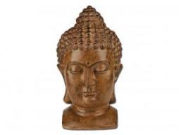 Buddhakopf Abmessung ca. 25x29x47 cm