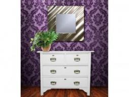 Design Spiegel modern-2, silber