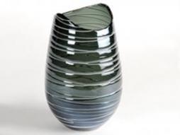 Design Vase Stripe 7, blue