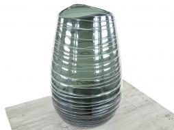 Design Vase Stripe 8, blau