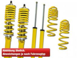 Coilover VW Golf 7 AU Yr. from 2012 with 50mm strut rear axle