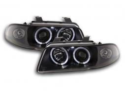 Scheinwerfer gebraucht Audi A4 Typ B5 Bj. 95-99 schwarz