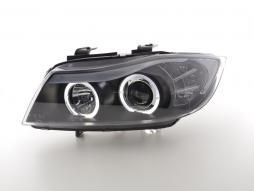 Scheinwerfer Design gebraucht BMW 3er (Typ E90/E91) Bj. 05-08 schwarz