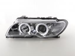 Scheinwerfer gebraucht BMW 3er E46 Coupe/Cabrio Bj. 03-05 Xenon chrom