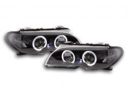 Scheinwerfer BMW 3er E46 Coupe/Cabrio Bj. 03-05 Xenon schwarz