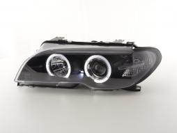 Scheinwerfer gebraucht BMW 3er E46 Coupe/Cabrio Bj. 03-05 Xenon schwarz