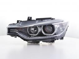 Angel Eyes phares BMW série 3 F30/F31 année de costr.  11-15 noire