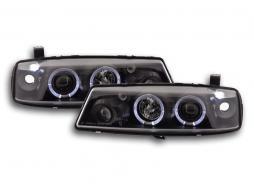 Phares pour Opel Calibra Année: 90-98 noir