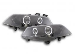 Phares pour Renault Megane 2 3/5-portes, Année: 03-06 noir