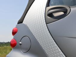 film per auto 3D trasparente autocollante 1 rullino = 0,5m x 2m