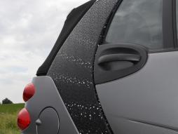 film per auto 3D nero autocollante 1 rullino = 0,5m x 2m