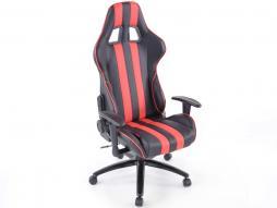 FK Sportsitz Bürodrehstuhl Toronto schwarz/rot Chefsessel Drehstuhl Bürostuhl