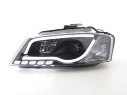 Tagfahrlicht gebraucht Scheinwerfer Daylight Audi A3 8P Bj. 08-12 schwarz